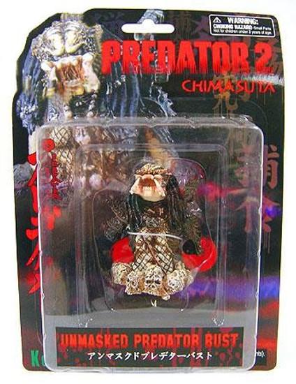 Predator 2 Chimasuta Unmasked Predator Bust Figure
