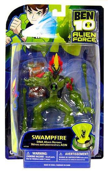 Ben 10 Alien Force DNA Alien Heroes Swampfire Action Figure
