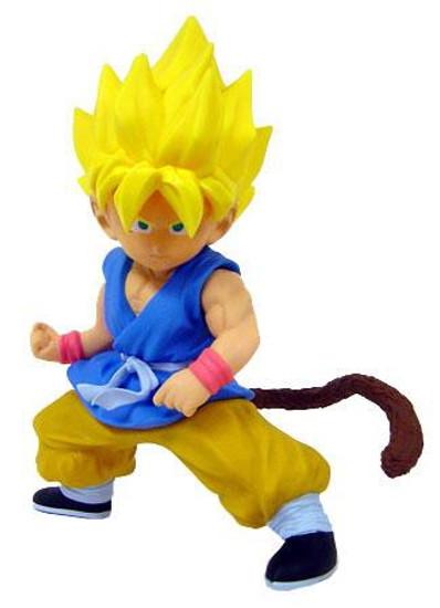 Dragon Ball GT Super Saiyan Kid Goku 9-Inch Vinyl Statue