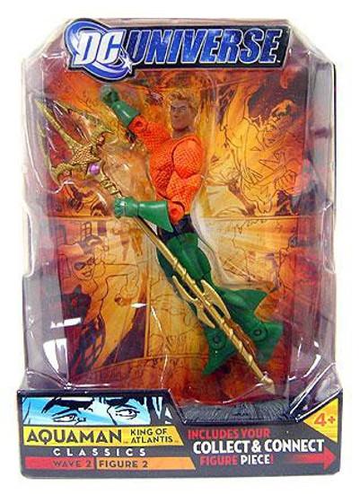 DC Universe Classics Wave 2 Aquaman Action Figure #2 [Short Hair]