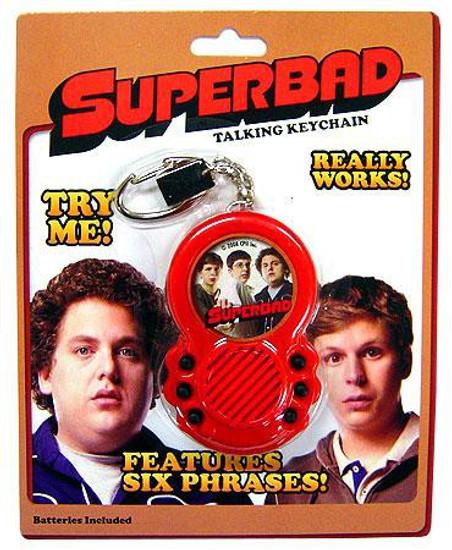 Superbad Talking Keychain