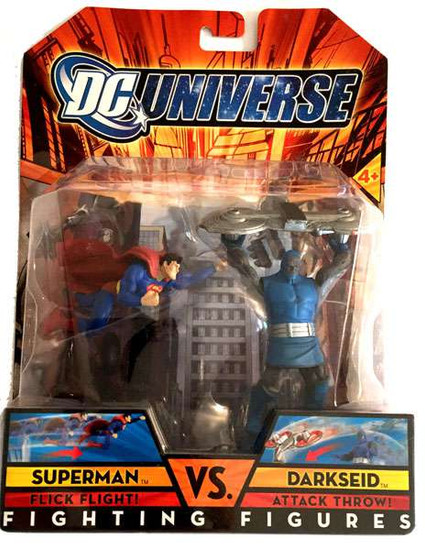 DC Universe Fighting Figures Superman vs. Darkseid Figure Set