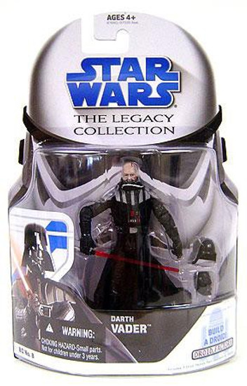 Star Wars Return of the Jedi 2008 Legacy Collection Droid Factory Darth Vader Action Figure BD08 [Unmasked]