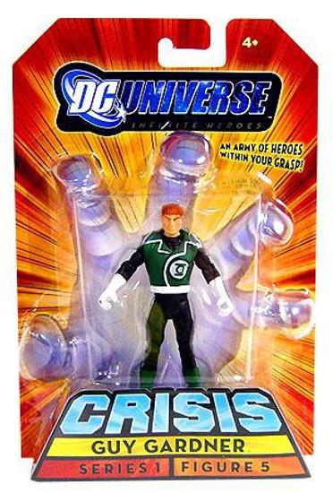 DC Universe Crisis Infinite Heroes Series 1 Guy Gardner Action Figure #5