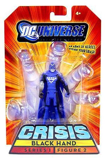 DC Universe Crisis Infinite Heroes Series 1 Black Hand Action Figure #2