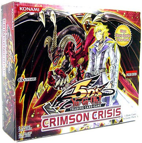 YuGiOh Trading Card Game Crimson Crisis Booster Box [24 Packs]