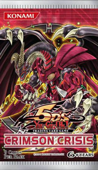 YuGiOh Trading Card Game Crimson Crisis Booster Pack [9 Cards]