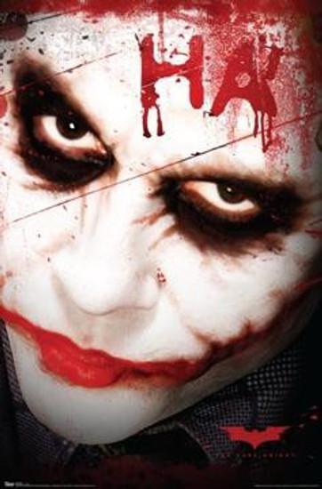 Batman The Dark Knight Poster #9348 [Joker HA!]