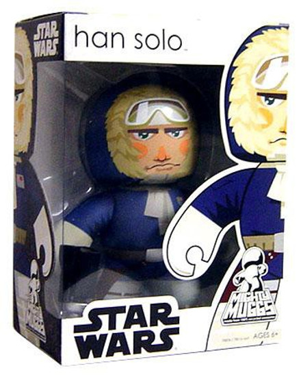 Star Wars The Empire Strikes Back Mighty Muggs Wave 6 Han Solo Vinyl Figure [Hoth]