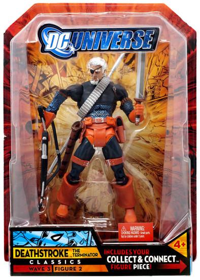 DC Universe Classics Wave 3 Build Solomon Grundy Deathstroke Action Figure #2 [Unmasked]