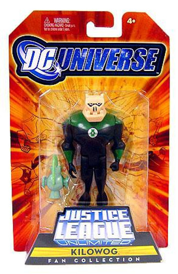 DC Universe Justice League Unlimited Fan Collection Kilowog Action Figure