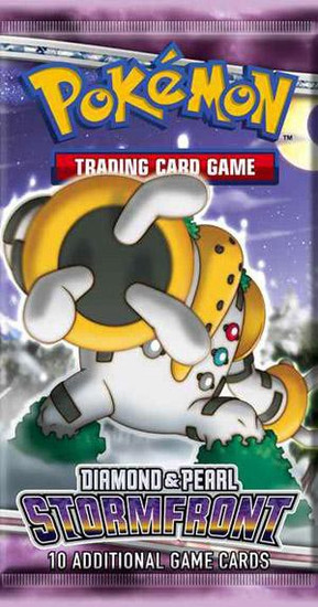Pokemon Trading Card Game Diamond & Pearl Stormfront Booster Pack [10 Cards]