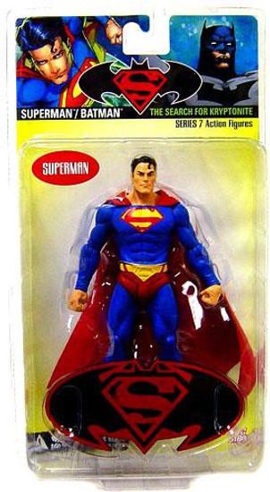 DC Superman Batman Series 7 The Search for Kryptonite Superman Action Figure