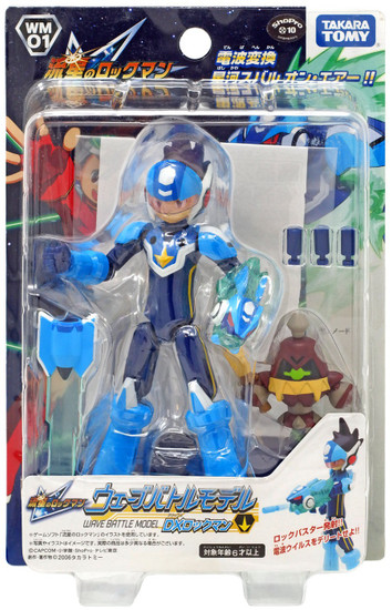 Rockman Star Force Takara Wave Battle DX Mega Man Action Figure WM-01