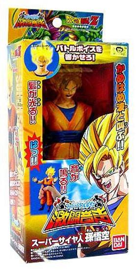 Dragon Ball Z Light & Sound Super Saiyan Goku Action Figure