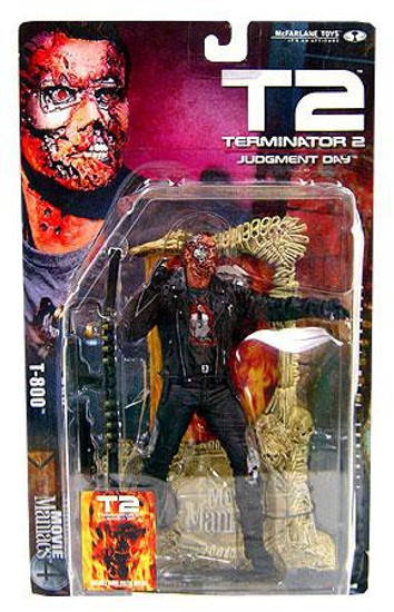 McFarlane Toys Terminator 2 Judgment Day Movie Maniacs Series 4 T-800 Action Figure