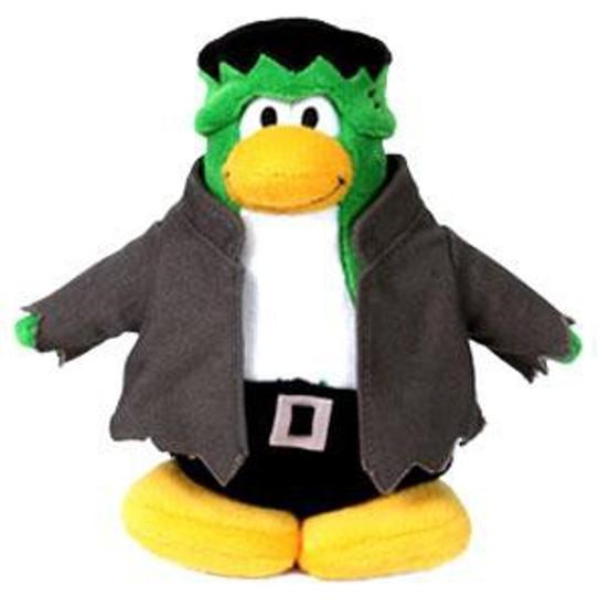 Club Penguin Frankenpenguin 6.5-Inch Plush Figure [Version 1]