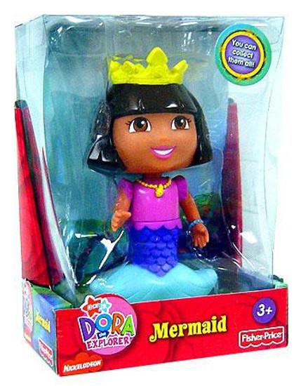 Fisher Price Dora the Explorer Mermaid 5-Inch Figure