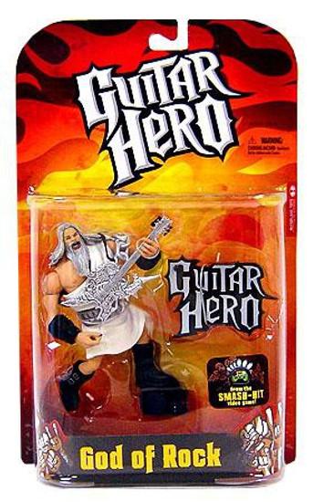 McFarlane Toys Guitar Hero God of Rock Action Figure [White Robe]