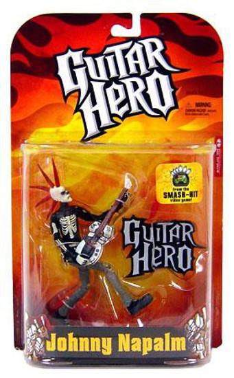 McFarlane Toys Guitar Hero Johnny Napalm Action Figure [Skeleton Variant]