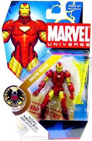 Marvel Universe Series 1 Iron Man Action Figure #1