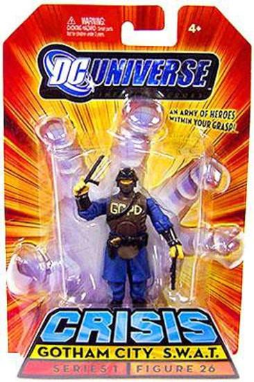 DC Universe Crisis Infinite Heroes Series 1 Gotham City S.W.A.T. Action Figure #26