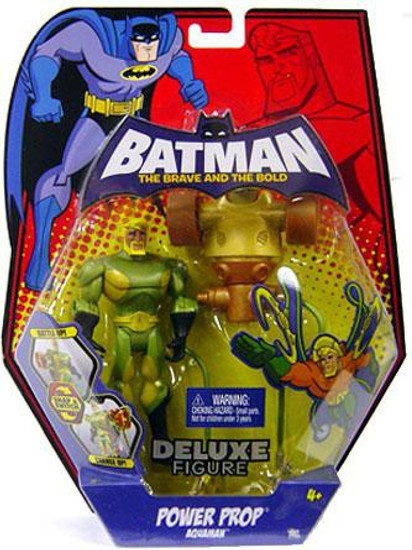Batman The Brave and the Bold Deluxe Power Prop Aquaman Action Figure