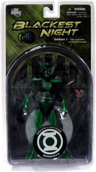 DC Green Lantern Blackest Night Series 1 Alpha Lantern Boodikka Action Figure