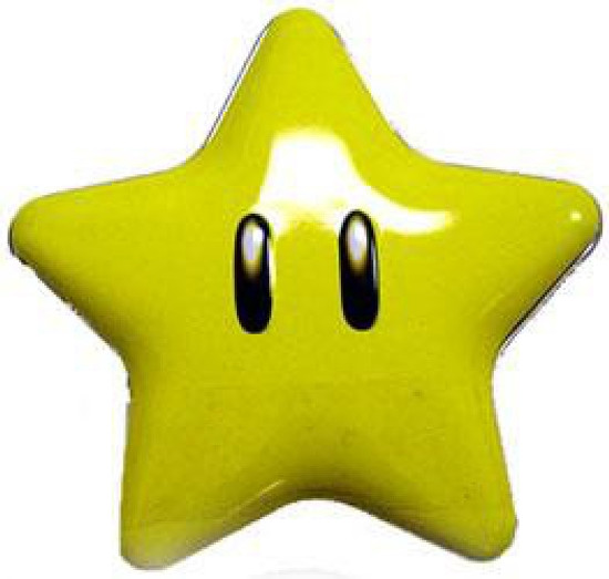 Nintendo New Super Mario Bros Super Star Candies Candy Tin