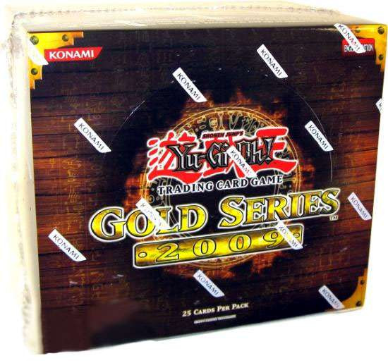 YuGiOh Trading Card Game Gold Series 2 2009 Exclusive Booster Box [5 Packs]