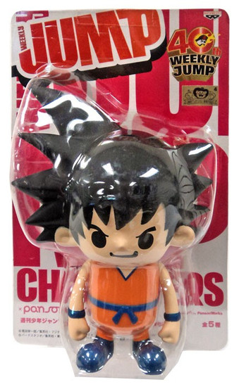 Dragon Ball Z Weekly Jump Series 4 Goku PVC Figure