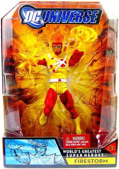 DC Universe World's Greatest Super Heroes Firestorm Action Figure
