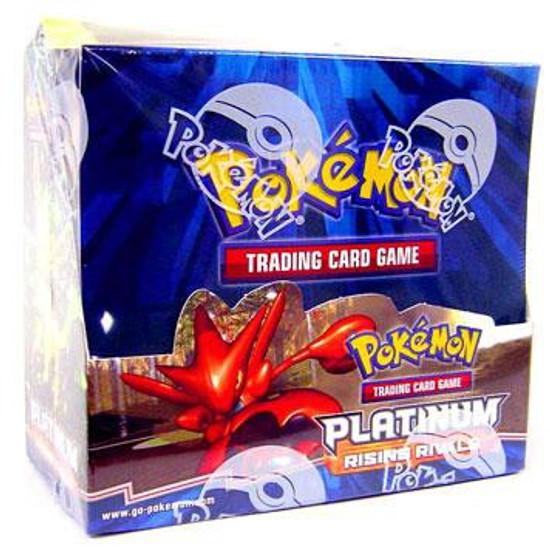 Pokemon Trading Card Game Platinum Rising Rivals Booster Box [36 Packs]