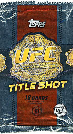 UFC Ultimate Fighting Championship 2011 Title Shot Trading Card HOBBY Pack [16 Cards!]