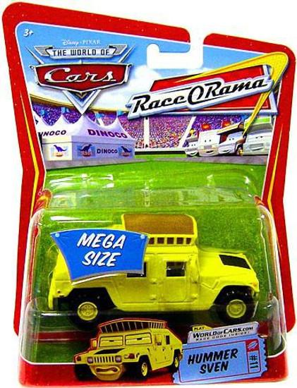 Disney / Pixar Cars The World of Cars Race-O-Rama Sven the Hummer Diecast Car #11