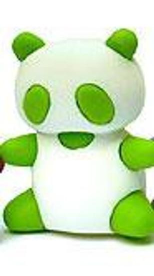 Iwako Green Panda Eraser