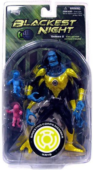 DC Green Lantern Blackest Night Series 2 Sinestro Corps KRYB Action Figure
