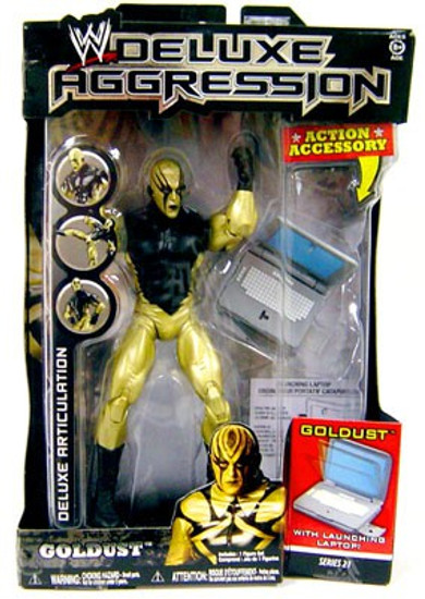 WWE Wrestling Deluxe Aggression Series 21 Goldust Action Figure
