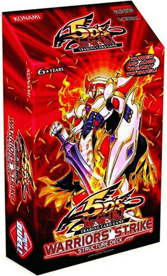 YuGiOh Trading Card Game Warriors' Strike (1st Edition) Structure Deck