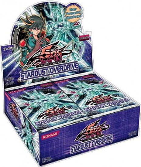 YuGiOh Trading Card Game Stardust Overdrive Booster Box [24 Packs]