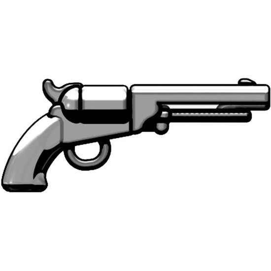 BrickArms M1851 Navy Revolver 2.5-Inch [Silver]
