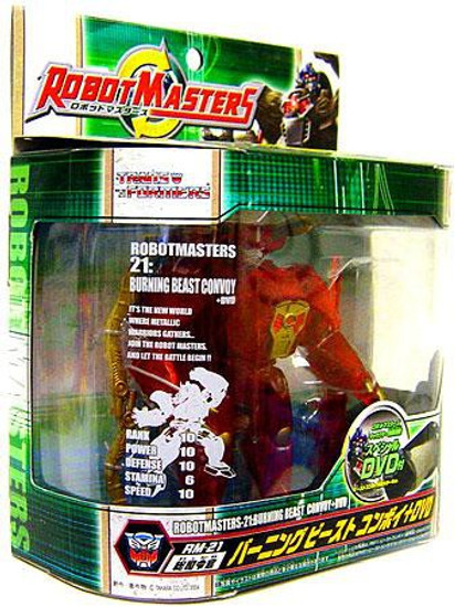 Transformers Japanese Robot Masters Beast Convoy Action Figure RM-21 [Optimus Primal]