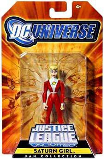 DC Universe Justice League Unlimited Fan Collection Saturn Girl Exclusive Action Figure