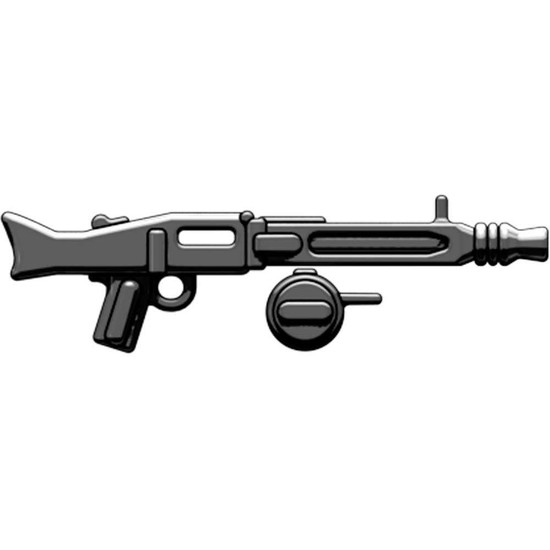 BrickArms MG-42 with Ammo Drum 2.5-Inch [Black]