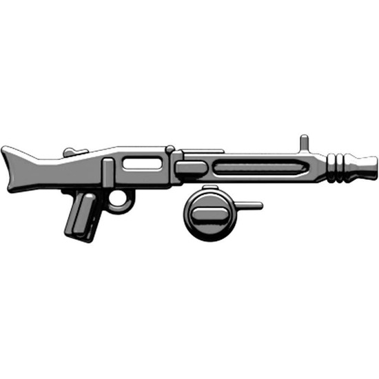 BrickArms MG-42 with Ammo Drum 2.5-Inch [Gunmetal Loose]