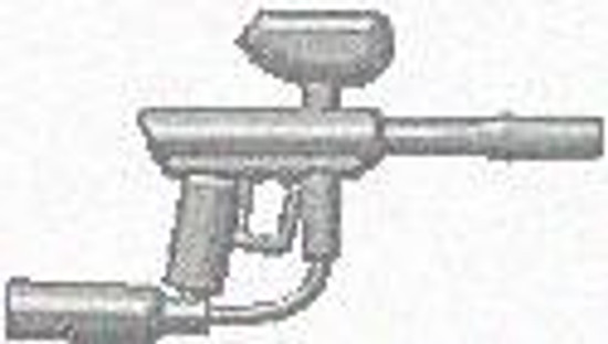 BrickArms Paintball Marker 2.5-Inch [Silver]