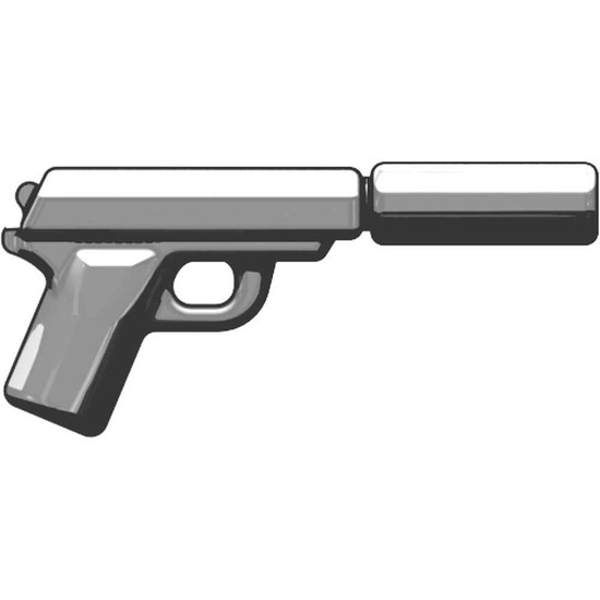 BrickArms PPK Tactical Spy Pistol 2.5-Inch [Silver]