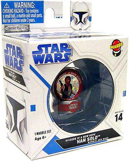 Star Wars A New Hope Marbs Series 2 Han Solo Marble #14