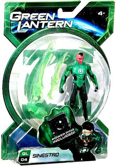 Green Lantern Movie Sinestro Action Figure GL04