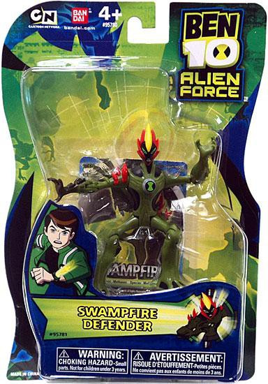Ben 10 Alien Force Swampfire Action Figure [Defender, No Mini Alien]